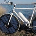 Güneş ile çalışan bisiklet! (Video)