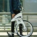 Bu bisiklet yalnızca 1 saniyede katlanıyor (Video)