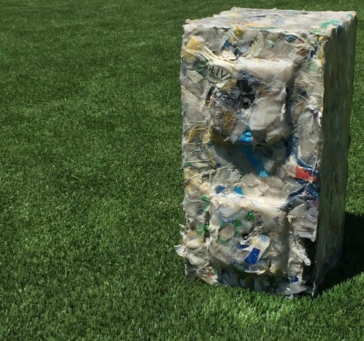 preslenmiş plastik